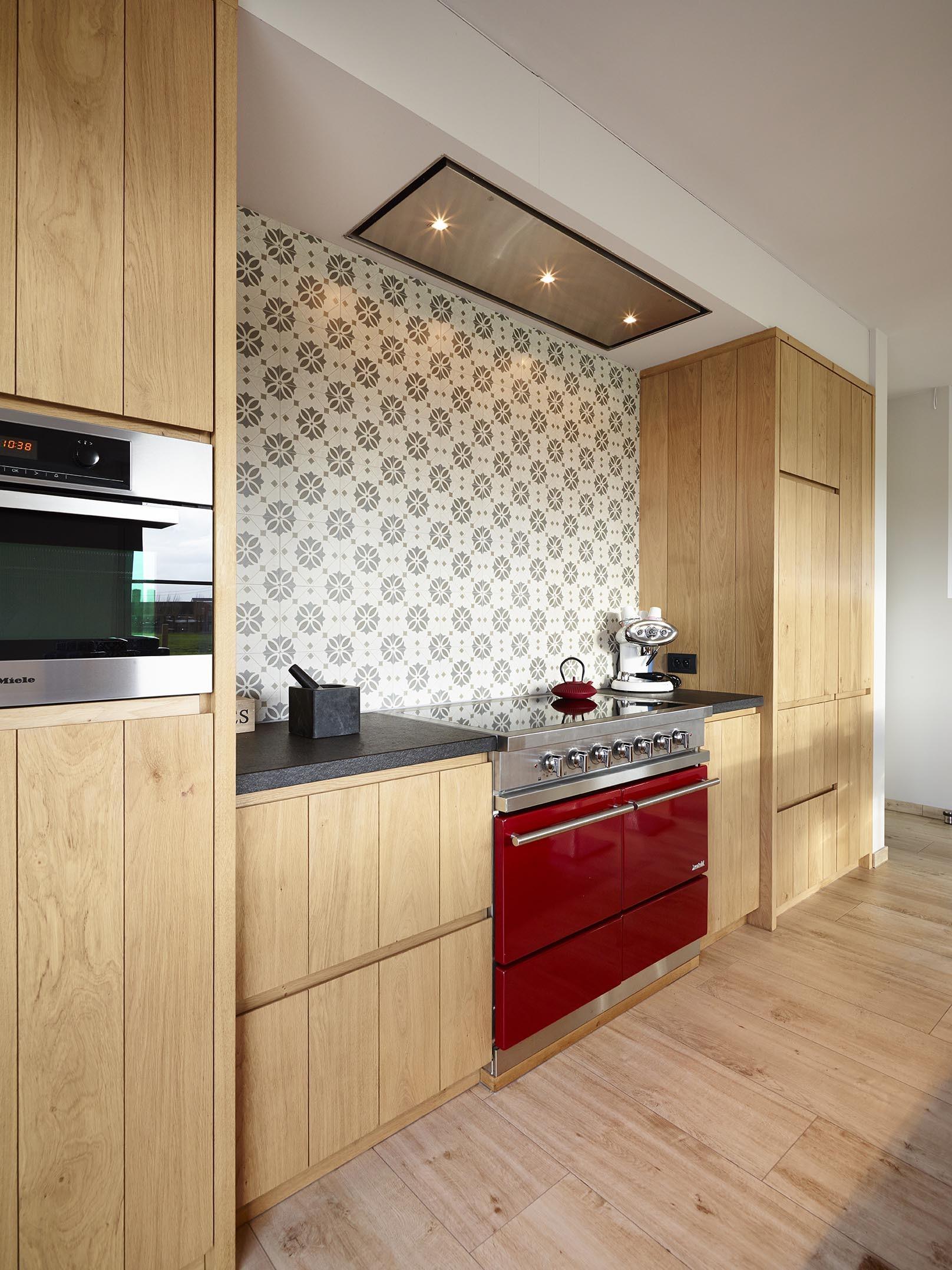 Een moderne landelijke keuken op maat de bosbeke - Keuken stijl ...