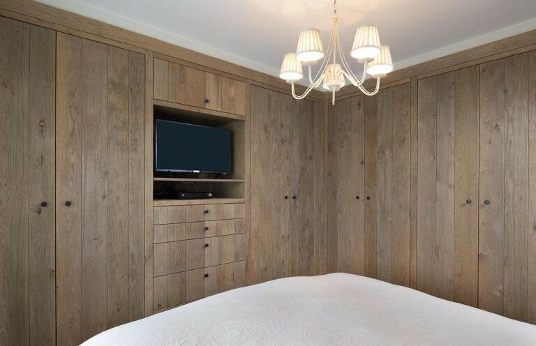 Slaapkamer in chaletstijl