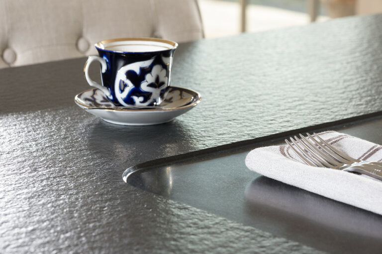 Granieten werkblad keuken detail