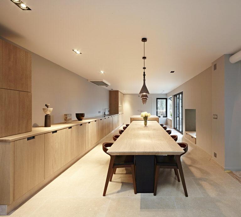 Open woonkamer en keuken
